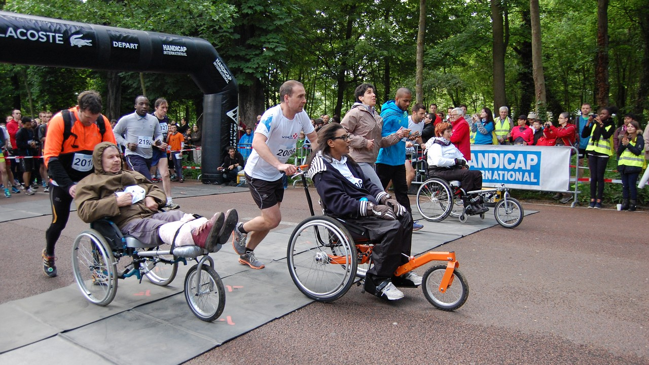Courir ensemble pour Handicap International - Edition 2014