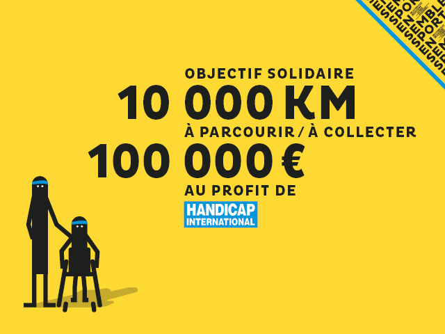 Visuel de l'événement Sport Ensemble de Handicap International