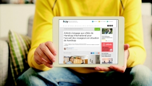 Airbnb et Handicap International s'associent pour augmenter le nombre de logements accessibles