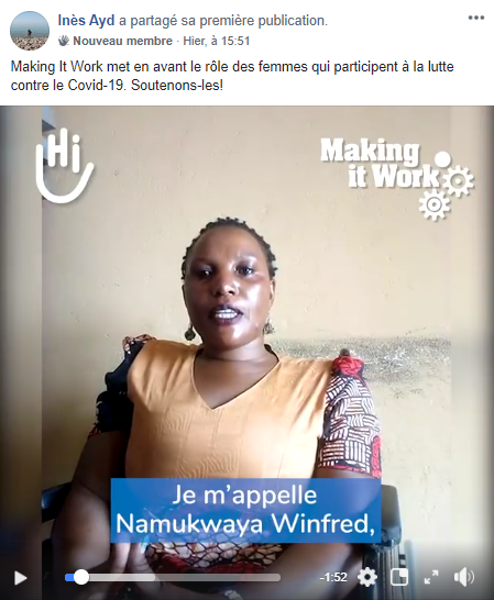 Handicap International - Canapé Engagé - Femmes - covid19