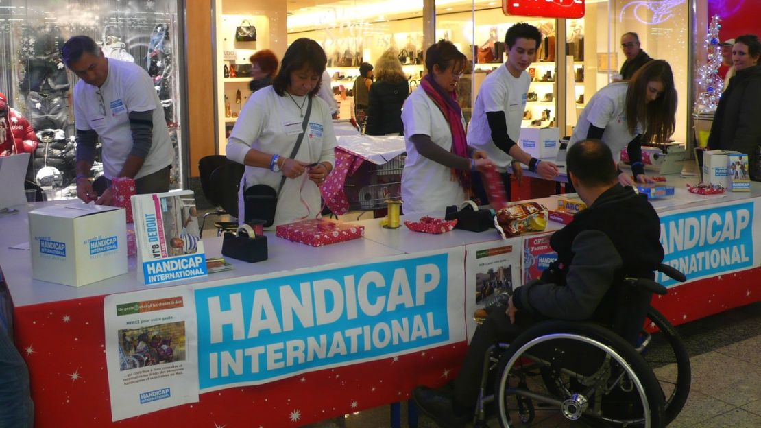 Monter une OPKDO au profit de Handicap International, c'est simple et rapide !