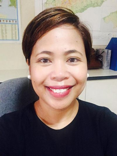 Portrait de Reiza Dejito, directrice de Handicap International aux Philippines